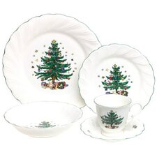 Happy Holidays 5 Piece Place Setting