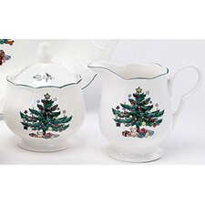 <strong>Nikko Ceramics</strong> Happy Holidays Sugar and Creamer Set