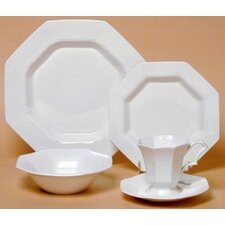 Classic White Dinnerware Collection