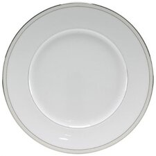 "Platinum Beaded Pearl 10.75"" Dinner Plate"