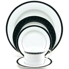 Black Tie Dinnerware Set