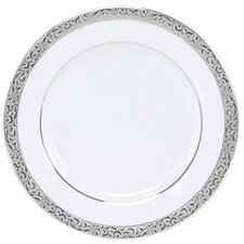 "Sentiments Platinum Filigree 6.5"" Bread and Butter Plate"