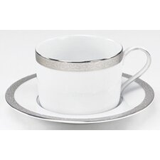 Sentiments Platinum Filigree Saucer