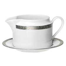 Sentiments Platinum Filigree Gravy Boat