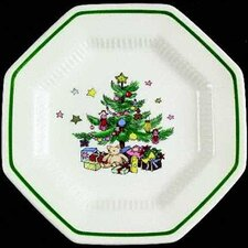 "<strong>Nikko Ceramics</strong> Christmastime 6.5"" Bread and Butter Plate (Set of 4)"