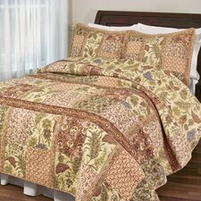 <strong>Classic Treasures</strong> Ceylon Tea Quilt Set