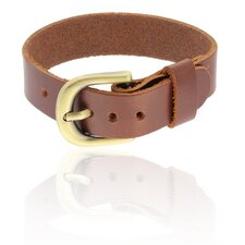 Smooth Leather Cuff Bracelet