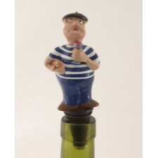 3 Piece French Bottle Stopper Set