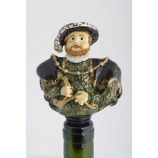 Henry VIII and 6 Wives Bottle Stopper Set