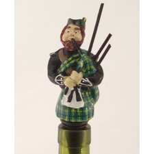 3 Piece Scottish Bottle Stopper Set