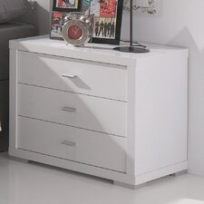 3 Drawer Bedside Table