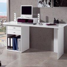 Schreibtisch mit Bildschirm-Ablage und 2 Schubladen