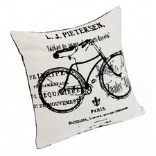 Bicycle Filled  Cushion Case