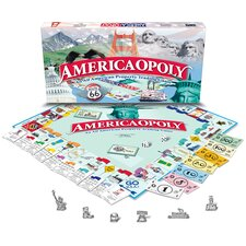 <strong>Late for the Sky</strong> America-opoly Board Game