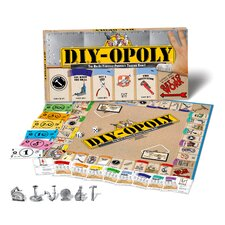 D.I.Y.-opoly Board Game