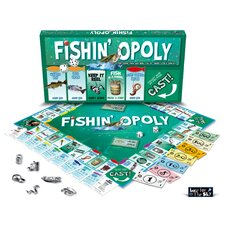 Fishin'-opoly Board Game