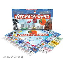 Atlanta-Opoly Board Game