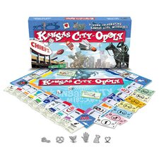 <strong>Late for the Sky</strong> Kansas City-Opoly Board Game