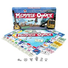 Memphis-Opoly Board Game