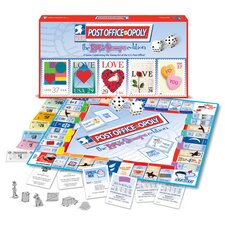Post Office-Opoly Love Stamps Edition Board Game