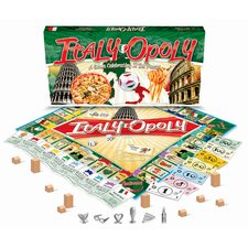 <strong>Late for the Sky</strong> Italy-Opoly Board Game