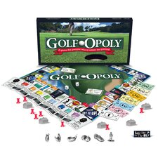 Golf-Opoly Board Game