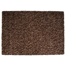 Felt Pebble Brown Contemporary Rug