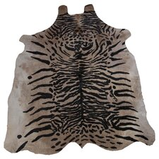 Cowhide Black / Brown Rug