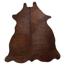 Cowhide Natural Brown Rug