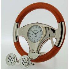 Large Steering Wheel Clock