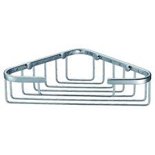 Corner Basket in Chrome