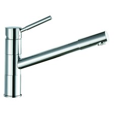 Ghadira Pull-Out Spray Kitchen Mixer in Chrome