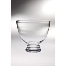 <strong>Majestic Crystal</strong> High Quality Glass Footed Bowl