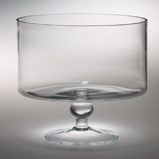 "High Quality Glass Thick Trifle 9.5"" Serving Bowl"