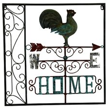 <strong>River Cottage Gardens</strong> Rooster Home Wall Décor