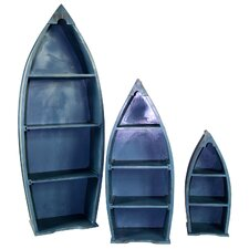 "Boat 44.1"" Bookcase (Set of 3)"