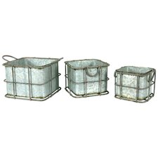 <strong>River Cottage Gardens</strong> Decorative Lantern (Set of 3)