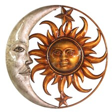 <strong>River Cottage Gardens</strong> Sun and Moon Wall Décor