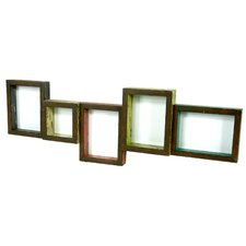 Picture Frame with 5 Openings