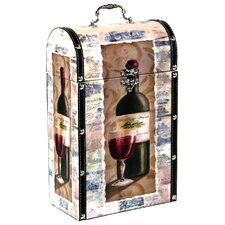 Decorative Wine Suitcase