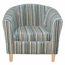 Nico Stripe Tub Chair