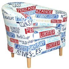 Padstow Fabric Tub Chair