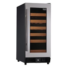 25 Bottle Compressor Single-Temp Wine Cooler