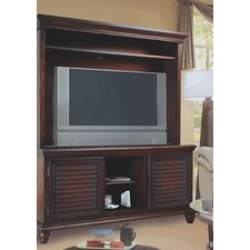 "Irish Countryside 62"" TV Stand with Hutch"