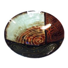 Decor Art Centerpiece Glass Bowl