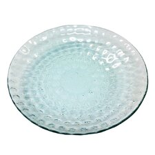 "Bubble Round 13.75"" Centerpiece Serving Glass Bowl"