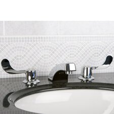 <strong>Kingston Brass</strong> Vista Double Handle Widespread Bathroom Faucet with Grid Strainer