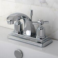 <strong>Kingston Brass</strong> Millennium Double Handle Centerset Bathroom Faucet