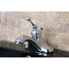 Vintage Single Handle Bathroom Faucet with ABS Pop-Up Drain