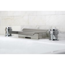 Milano Double Handle Waterfall Roman Tub Filler